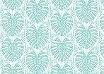 Aloha Leafy Blue