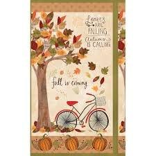 Autumn Road Panel 54530 128 Wilmington Prints