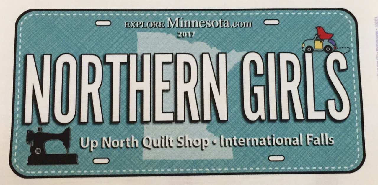 Northern Girls Fabric Plates