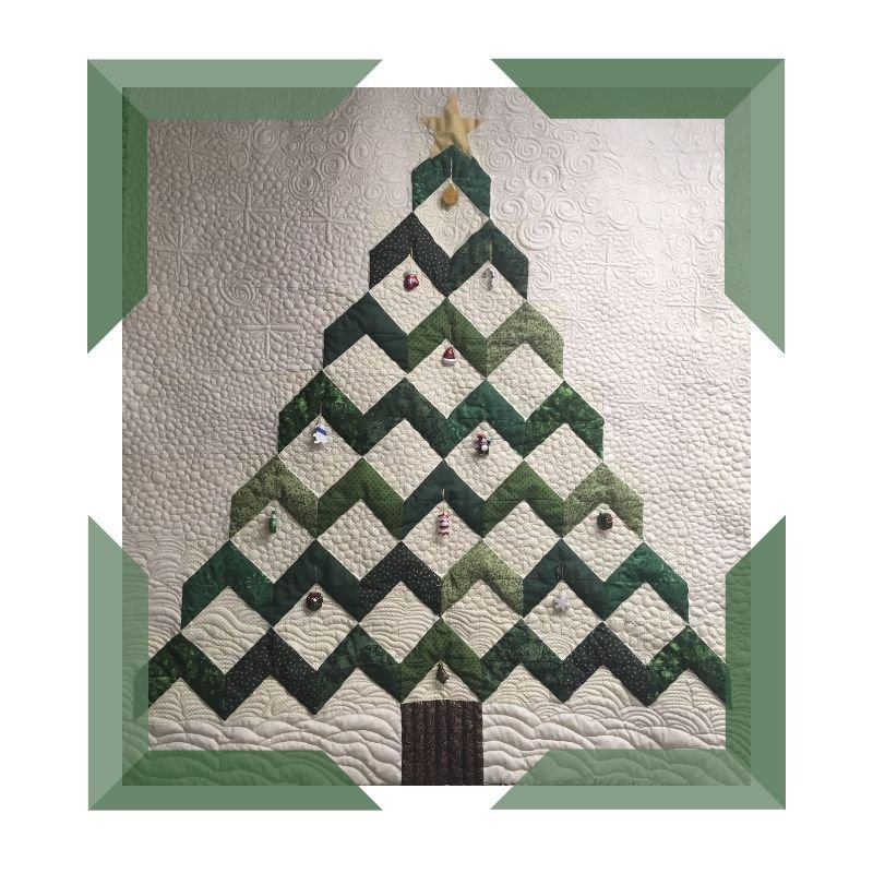 Christmas Geese project quilt