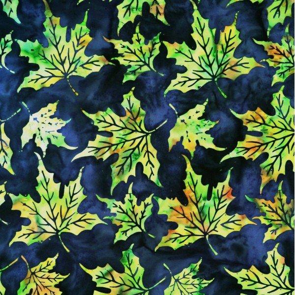 Batik by Mirah - Silver Sage - Celery