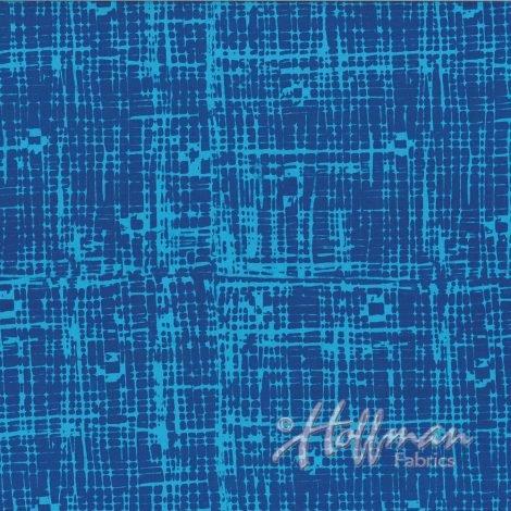 Indah hand dyed batiks- Bluebird