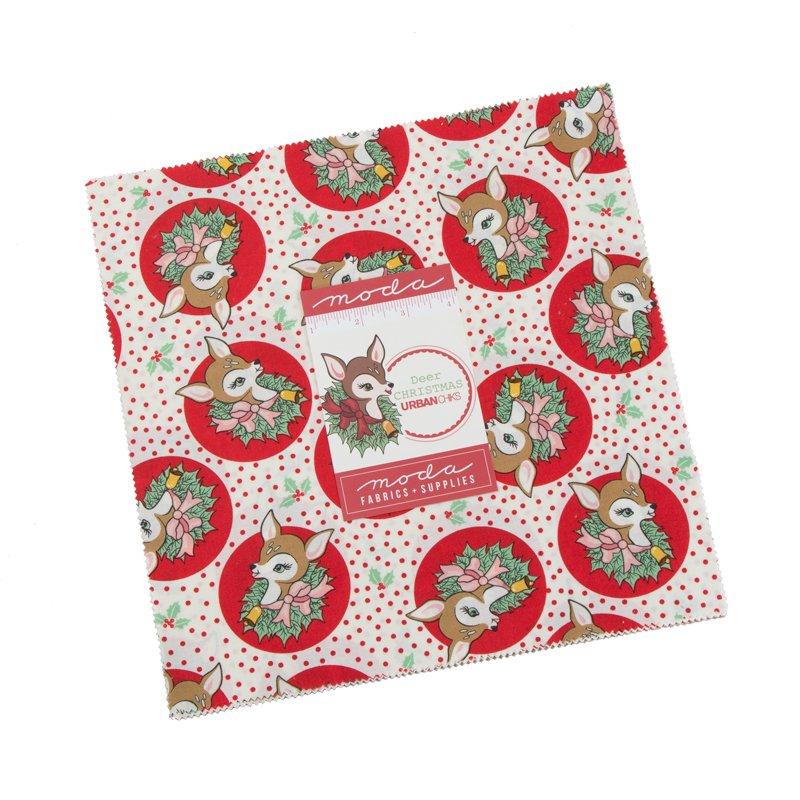 Deer Christmas 10 Layer Cakes