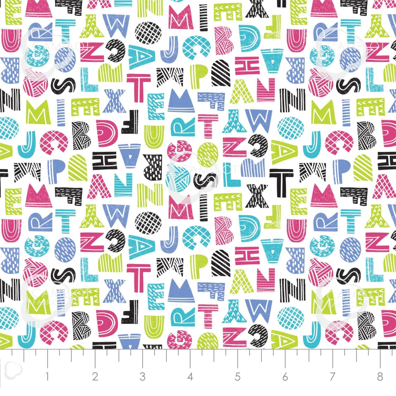 Mod Blocks Letters Multi