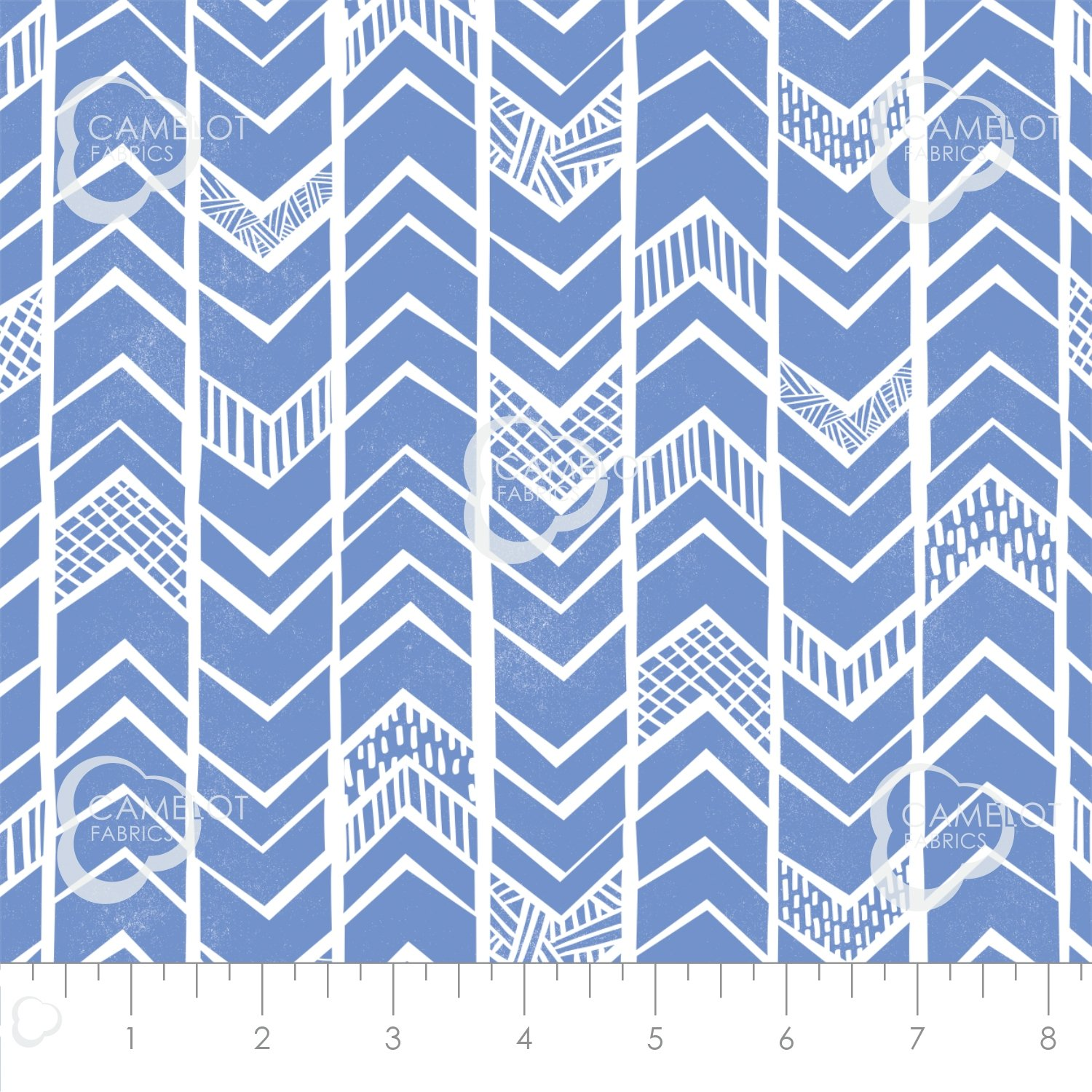Mod Blocks Chevron Blue