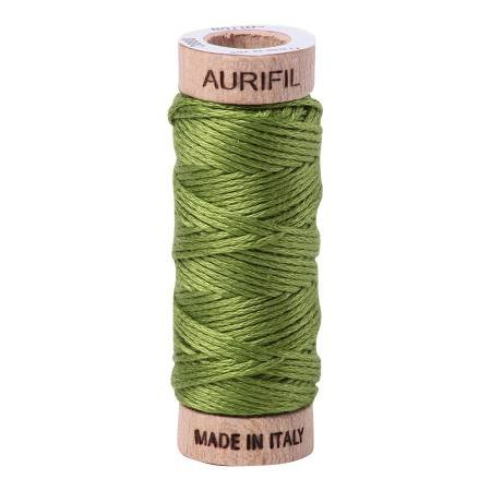 AuriFloss Cotton 6-Strand 18yd Solid Fern Green