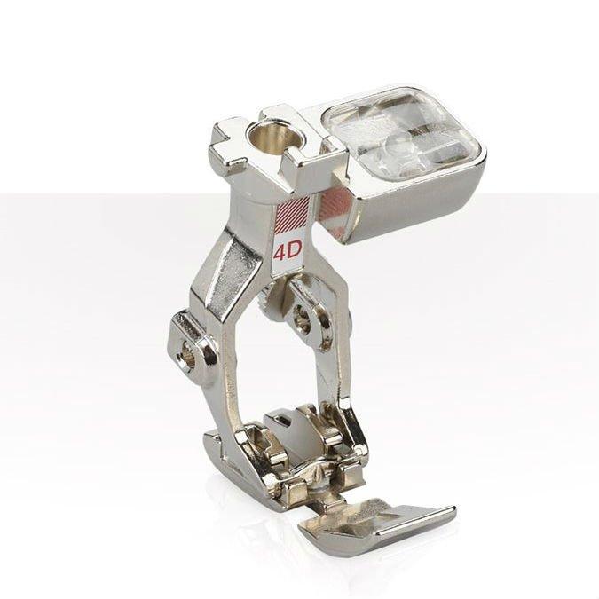 #4-D Zipper foot dual feed