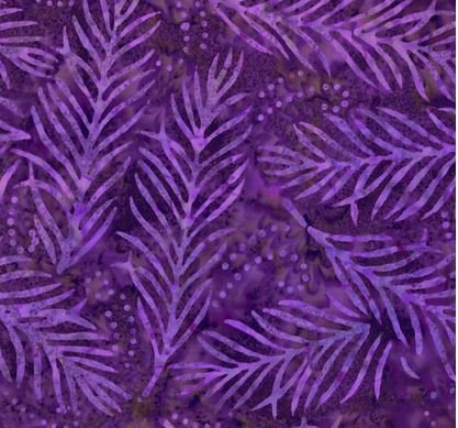 Essentials 108 Backing Delicate Fronds- Purple