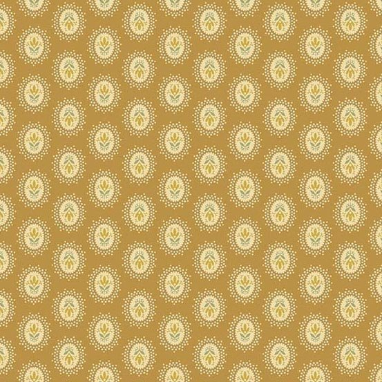 Crystal Farm Toffee Medallion by Laundry Basket Quilts