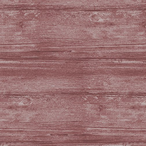 Words to Live By Washed Wood Red