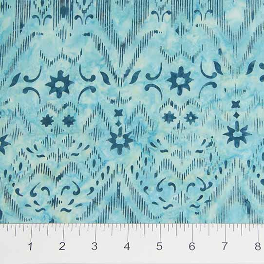 Skinny Bolt Sale- 2.8m of Batik iKat Sketch 80083-62