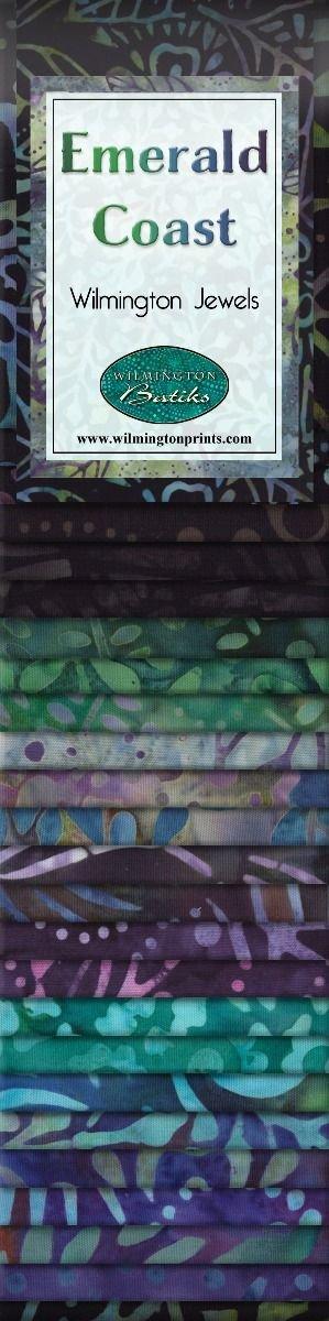Wilmington Batiks Emerald Coast Strips