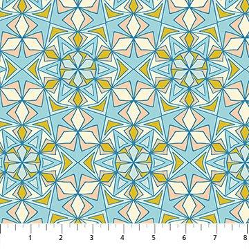 Oasis- Kaleidoscope Blue/multi