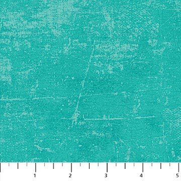 108 Wide back Canvas Turquoise