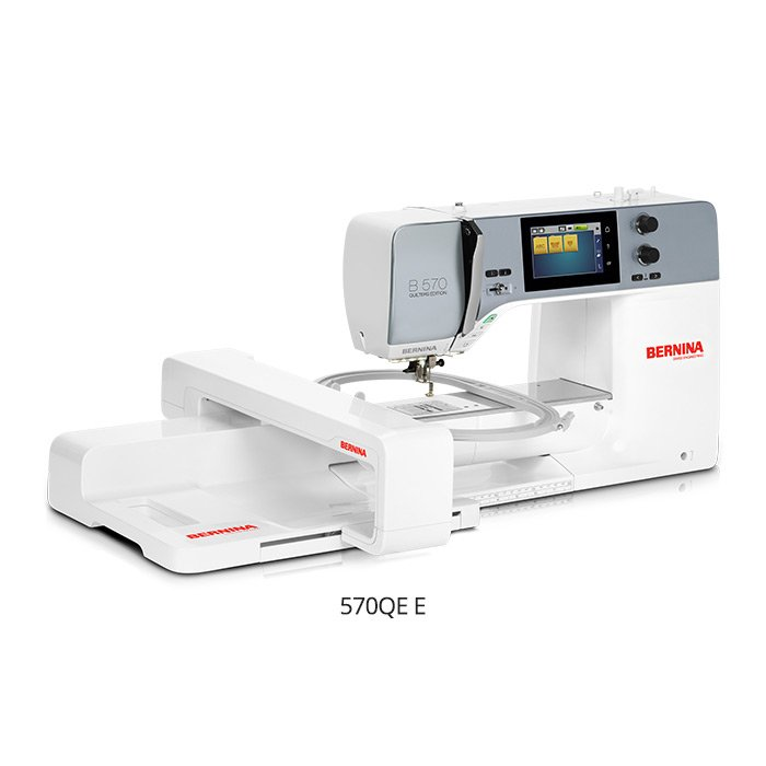 Bernina 570 QE with Embroidery module
