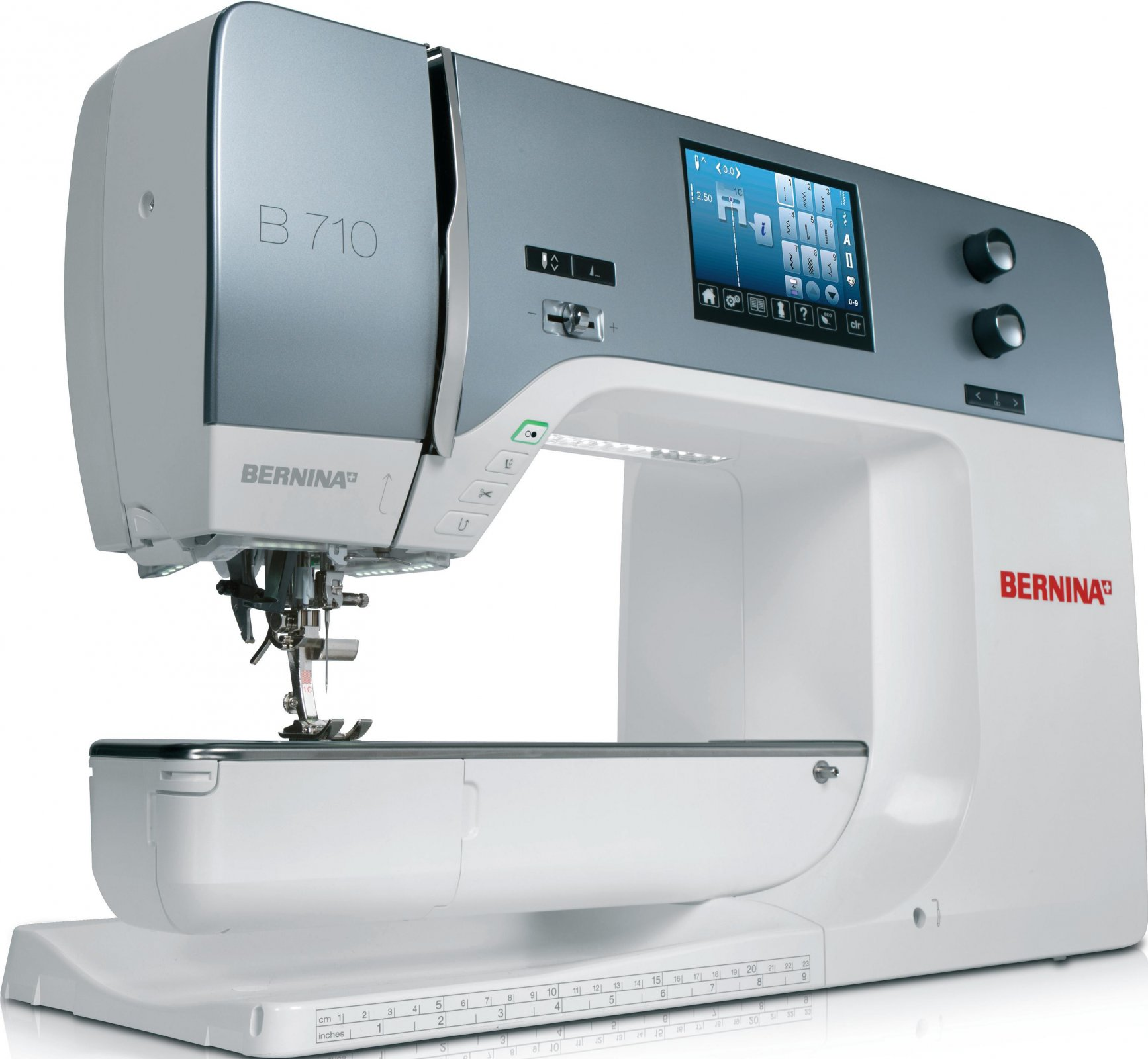 Used Machine for Sale- Bernina 710 with lots of extras