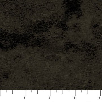 Toscana Flannel Wide Backing- Black