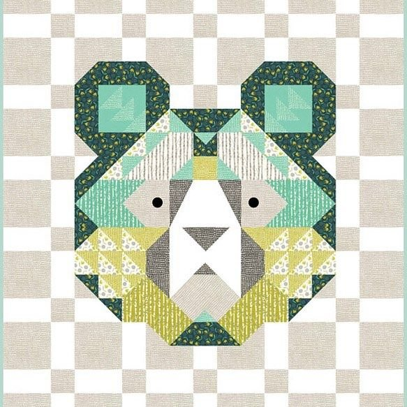 Big Sky The Bear Quilt Kit