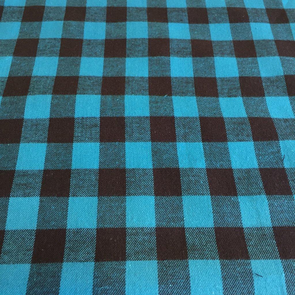 Windstar 1 Buffalo Check Flannel Teal