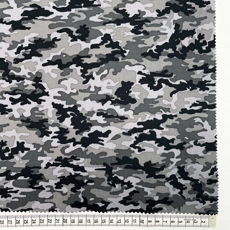 Camouflage- Grey