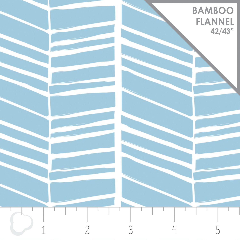 Nursey Program Chevron Air Bamboo Flannel