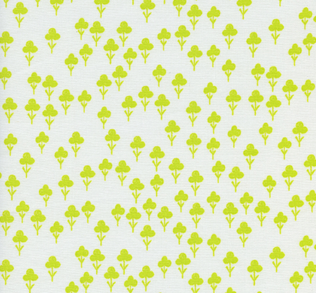 Clovers in Yellow- Front Yard by Cotton + Steel