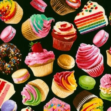 Cupcake Black Novelty