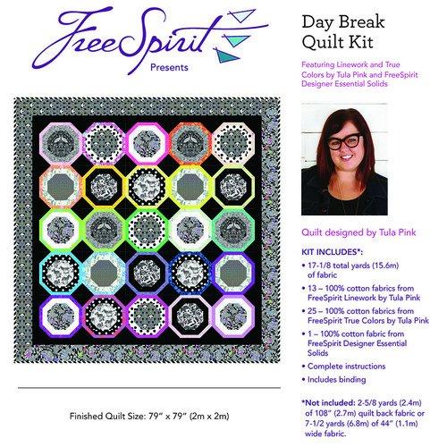 PRE ORDER- Tula Pink Linework- Daybreak Quilt Kit