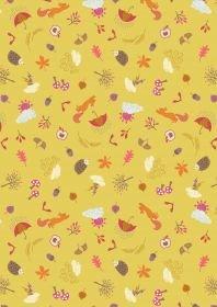 Lewis & Irene Autumn on Yellow