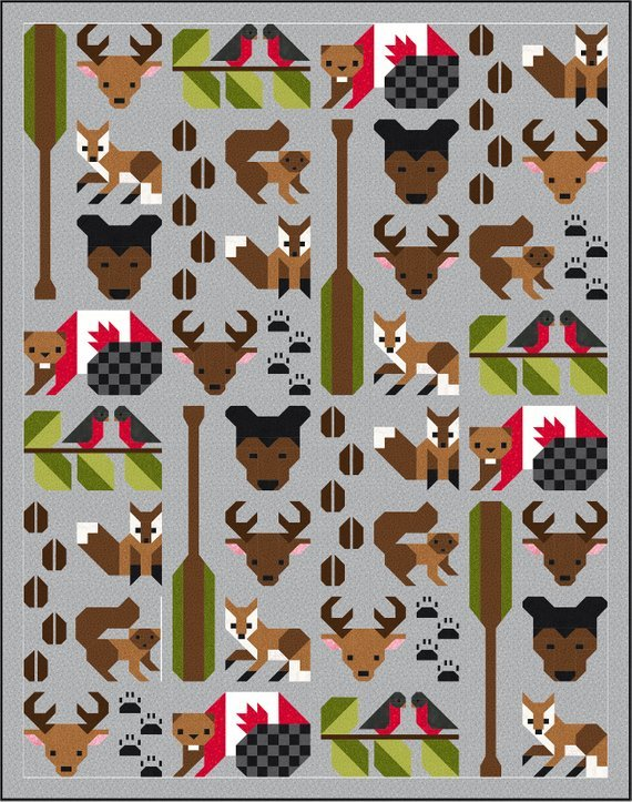 Forest Friends Quilt Pattern by Sew Fresh Quilts