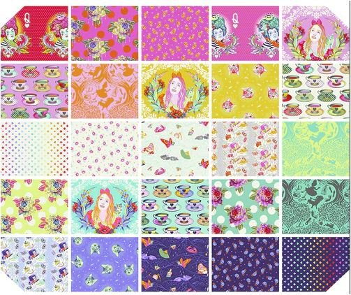 PRE-SALE: Curiouser and Curiouser- Fat Quarter Bundle by Tula Pink