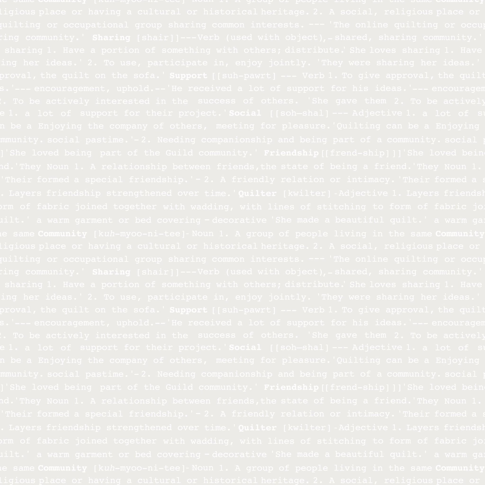 GBQ Back to Basics- 1602- Silver