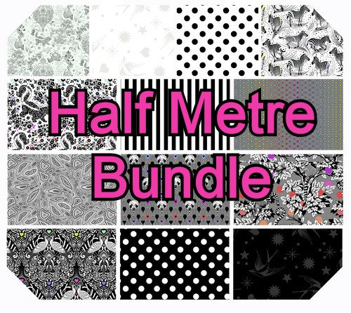 PRE ORDER- Tula Pink Linework- Half Metre Bundle