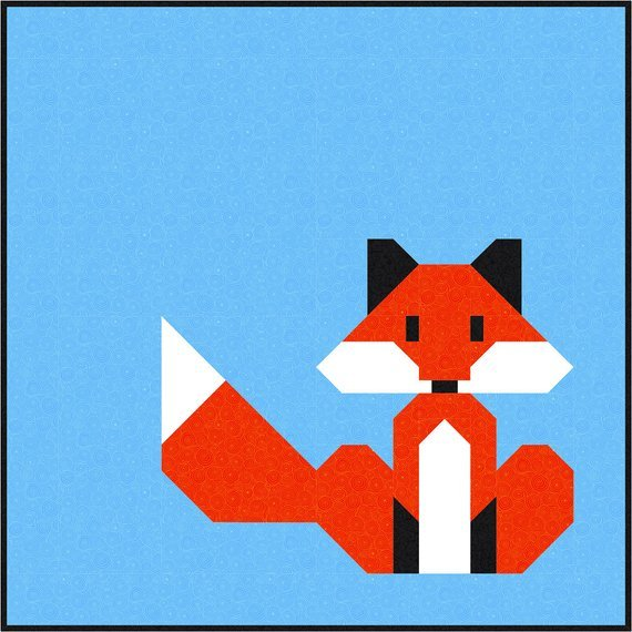 Hello Foxy pattern by Sew Fresh Quilts