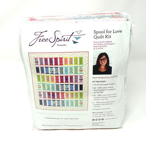 PREORDER - Homemade Quilt Kit- Spool for Love by Tula Pink