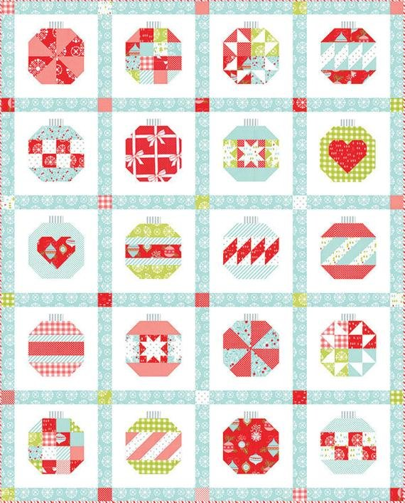 Quilt Kit: Vintage Holiday by Bonnie and Camille for Moda