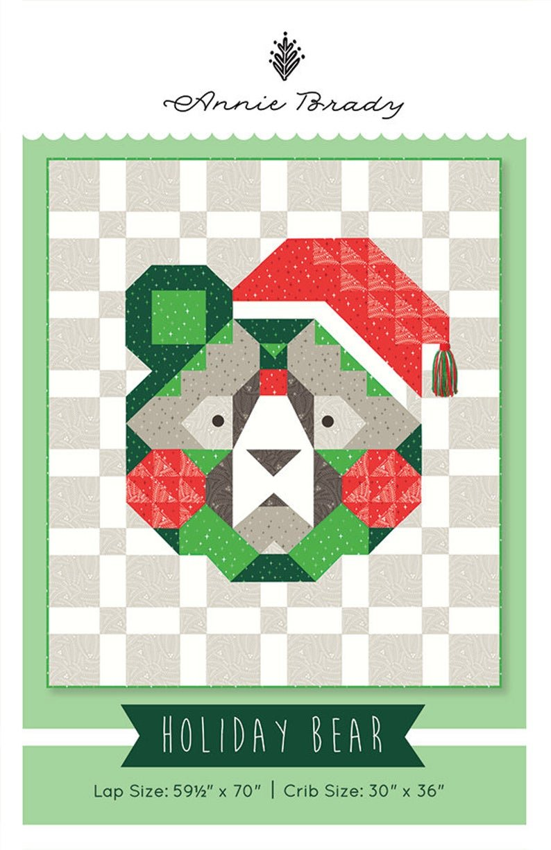 Holiday Bear Pattern