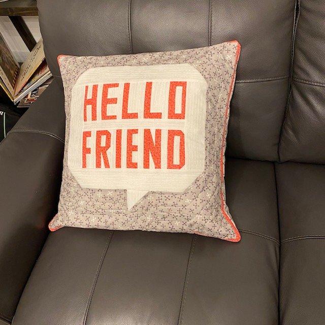 HELLO FRIEND Pillow KIT