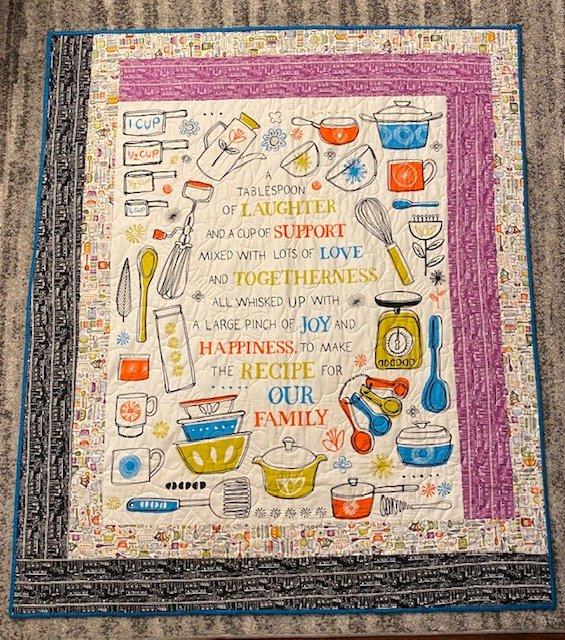 Quilt Kit: Grandma Pearl's Kitchen