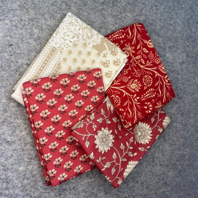Fat Quarter Bundle- 4 pcs - French General
