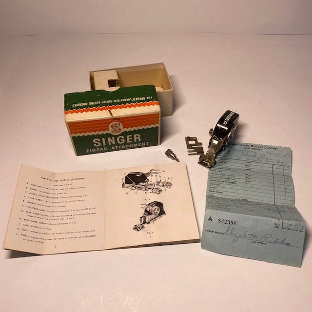 Singer Vintage Original ZigZag Attachment