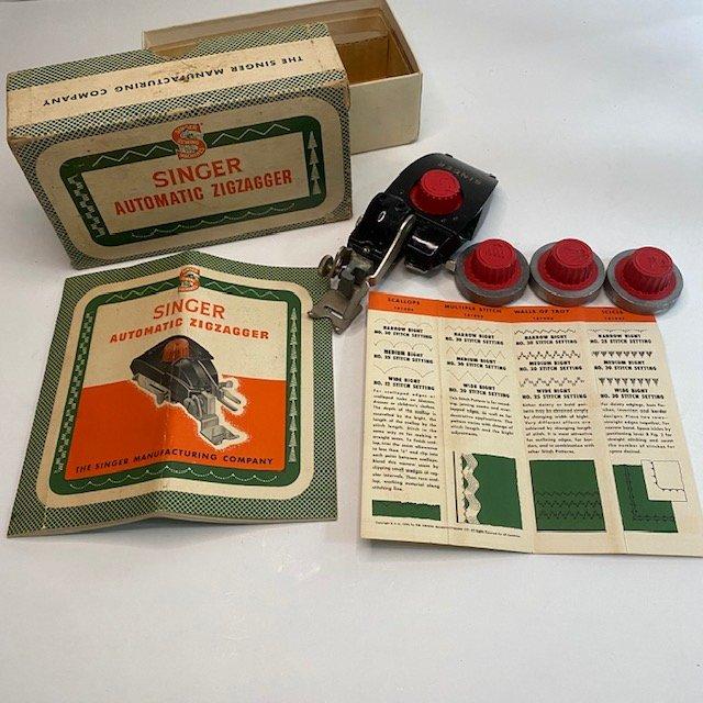 Singer Vintage Original Automatic ZigZag Attachment