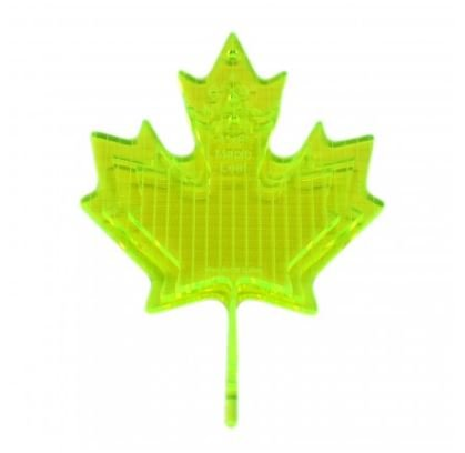 Glow Edge Long Arm Ruler Maple Leaf - set of 3