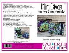 Mini Divas Clutch Wallet Pattern