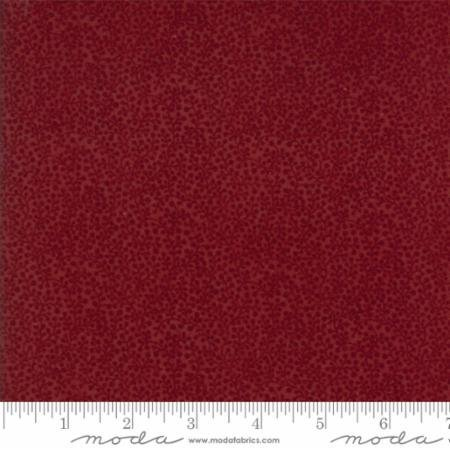 108 Wide Back Red Tonal Country Road Flannel