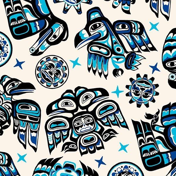Native Spirit Blue/White