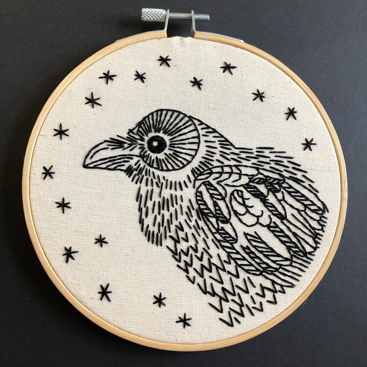 Embroidery Kit Nevermore