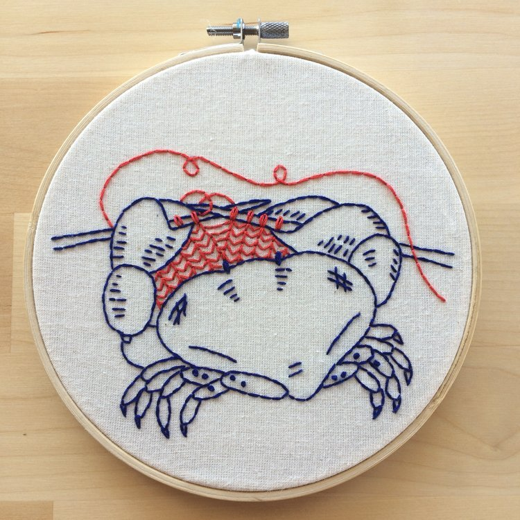 Embroidery Kit oh snap