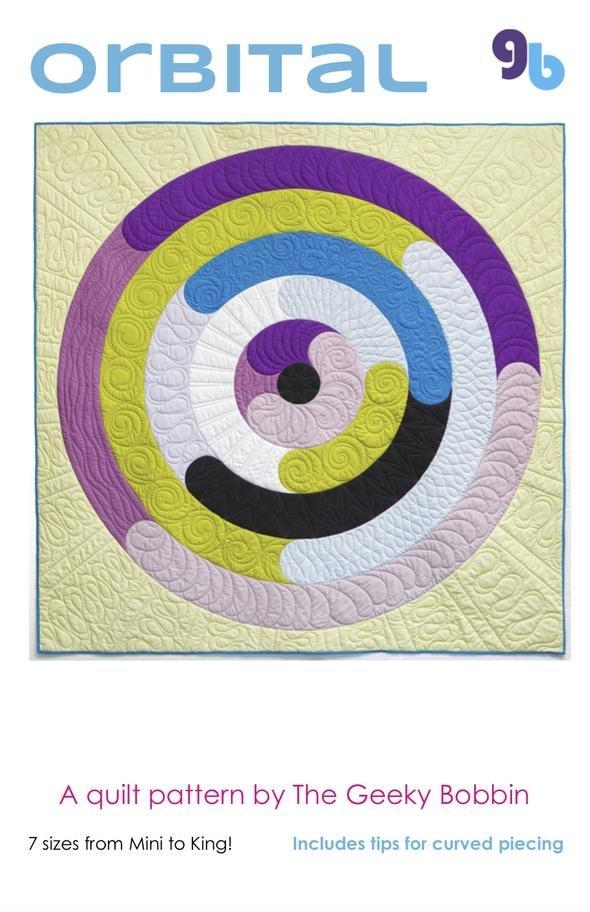 Orbital Quilt Pattern by The Geeky Bobbin