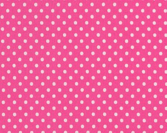 Polkadot Punch Flannel Pink